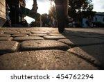 pavement street | Shutterstock . vector #454762294