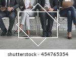 badge label mark brand copy... | Shutterstock . vector #454765354