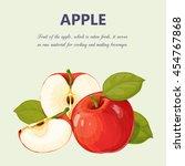 apple | Shutterstock .eps vector #454767868
