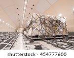 air cargo freighter | Shutterstock . vector #454777600