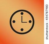 clock | Shutterstock .eps vector #454787980