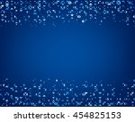 blue abstract background with... | Shutterstock .eps vector #454825153