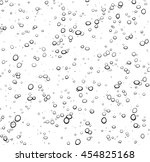 white background with bubbles.... | Shutterstock .eps vector #454825168
