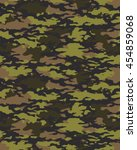 fashionable camouflage pattern  ... | Shutterstock .eps vector #454859068