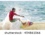phuket   july 17  unidentified... | Shutterstock . vector #454861066