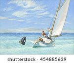 Ground Swell  By Edward Hopper...
