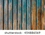 Rusty Turquoise Painted Fence   ...