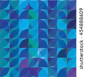pattern of circle segment...   Shutterstock .eps vector #454888609