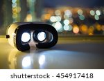 virtual reality equipment | Shutterstock . vector #454917418