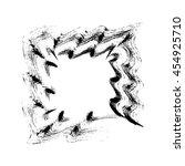 grunge square frame  vector...   Shutterstock .eps vector #454925710