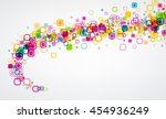 background with twirl of colour ... | Shutterstock .eps vector #454936249