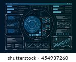 human user display . mixed media | Shutterstock . vector #454937260