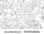 grunge cracks effect texture ... | Shutterstock .eps vector #454968838
