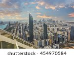view of abu dhabi city  united... | Shutterstock . vector #454970584