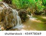 waterfall in national park... | Shutterstock . vector #454978069