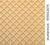 yellow wafer textured surface... | Shutterstock . vector #455012674