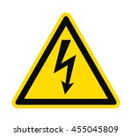 Flat Icon Danger High Voltage....