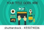 blogging concept header banner...