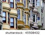 san francisco row houses | Shutterstock . vector #45508432