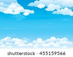 sky with clouds  on a sunny day....