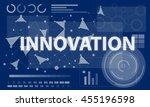 computer network internet... | Shutterstock . vector #455196598