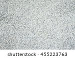 white polished stone wall... | Shutterstock . vector #455223763