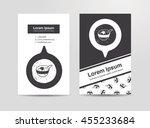 dumpling doodle | Shutterstock .eps vector #455233684