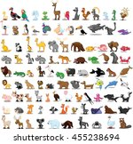 super big set of different... | Shutterstock .eps vector #455238694