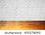 room interior vintage with... | Shutterstock . vector #455278093