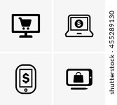 e commerce signs | Shutterstock .eps vector #455289130