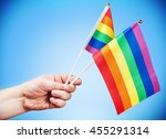 Flags Of The Lgbt Community In...