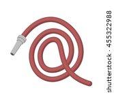 hose icon vector icon cartoon...   Shutterstock .eps vector #455322988