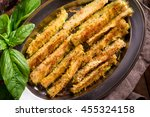 Baked Garlic Parmesan Zucchini...