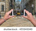 Woman Hands Taking Milan's...