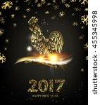 chinese calendar symbol of 2017 ...   Shutterstock .eps vector #455345998