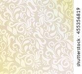 pattern in arabic style.... | Shutterstock . vector #455356819