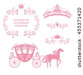 design elements  vintage... | Shutterstock . vector #455371420