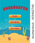 underwater screen gui game asset