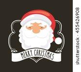 merry christmas concept...   Shutterstock .eps vector #455426908