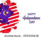 creative illustration banner or ... | Shutterstock .eps vector #455434618
