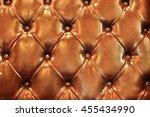 texture of luxury sofa in house  | Shutterstock . vector #455434990
