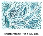 watercolor background. hand... | Shutterstock . vector #455437186