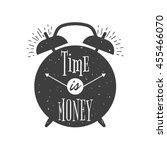 Alarm Clock Vintage Typographi...