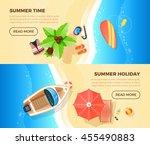 Summer Holiday Tropical Island...