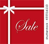 sale banner vector illustration ... | Shutterstock .eps vector #455516110