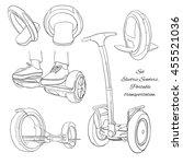 vector illustration of set... | Shutterstock .eps vector #455521036