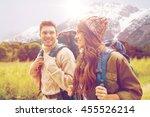 adventure  travel  tourism ...   Shutterstock . vector #455526214