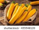 Raw Organic Yellow Zucchini...