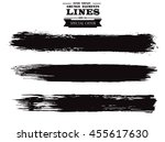 set of grunge lines. isolated...