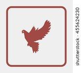 dove of peace. | Shutterstock . vector #455624230